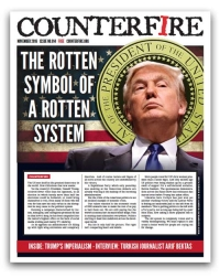 The rotten symbol of a rotten system: Counterfire freesheet November 2016