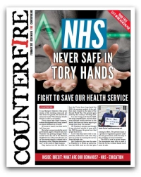 NHS: never safe in Tory hands - Counterfire freesheet January 2017