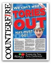 Tories out - Counterfire freesheet September 2017