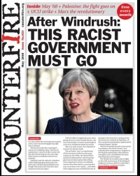 After Windrush: this racist government must go - Counterfire Freesheet May 2018