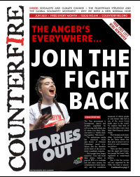 The anger's everywhere... Join the fightback - Counterfire Freesheet June 2021
