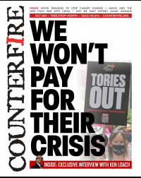 We won't pay for their crisis - Counterfire Freesheet October 2021