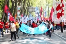 May Day: protestors in Turkey take to the streets