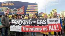 Direct action success for anti-fracking camp