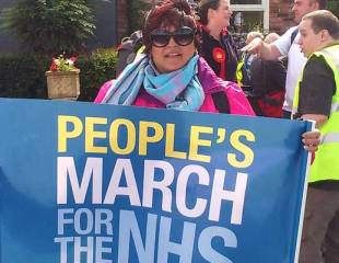 Interview with People's March for the NHS organiser Rehana Azam