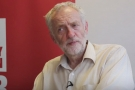 Jeremy Corbyn: anti-war protests have shaken British politics