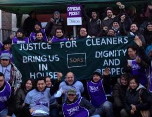 The secrets of success: how SOAS cleaners fought and won