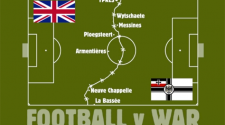 Football V War: new film marks 1914 Christmas Truce Centenary