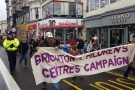 Brighton residents march against cuts