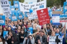 Junior doctors: they thought we would be easy targets - podcast