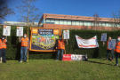 Defiant British Gas workers continue to stand their ground - picket line reports