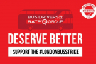 Solidarity with London bus drivers - model resolution