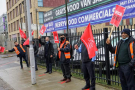 'We just want to be treated like humans': London bus drivers strike