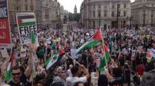 Liveblog: #GazaJ19 protest against Israel's invasion