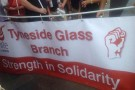 Strike action brings victory for Tyneside Safety Glass workers!