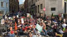 Whose streets? Our streets! Bristol budget protest