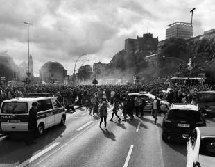 Eyewitness account: G20 protests in Hamburg