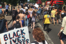 Black lives matter: Brixton takes to the streets