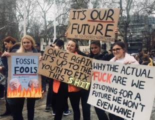 Climate strikers: 'capitalism is ill-equipped to deal with the crisis'