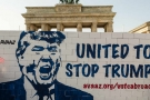 No to Trump: standing up against hate