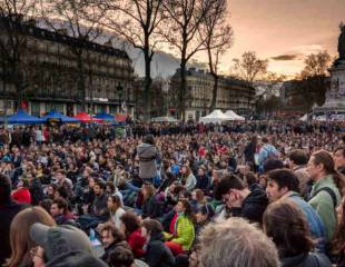 France in the streets: against the government and the EU