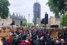 The message from London is clear: Black Lives Matter