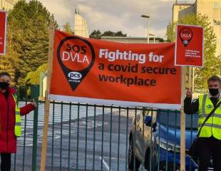DVLA strike shifts up a gear - News from the Frontline