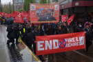 Manchester May Day march takes aim at fire and rehire