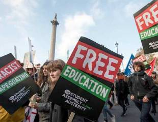 They're back: Free Education march takes London by storm