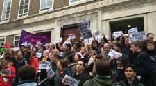 Sandy Nicoll reinstated at SOAS: the strength of solidarity
