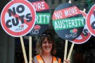 National TUC anti-austerity demonstration | 18 October 2014