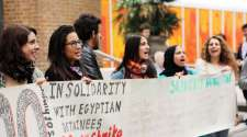 Soas students join international hunger strikes in solidarity with Egyptian detainees