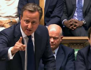 Cameron's bloody cynicism